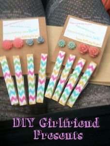 DIY girlfriend presents