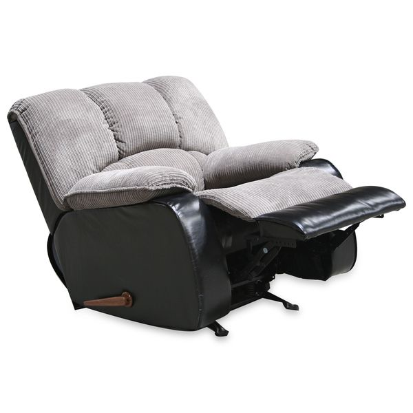 Jagger Grey Reclining Chair - Overstock™ Shopping - Great Deals on Living Room Chairs