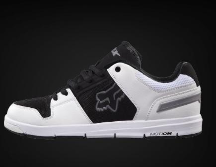 Fox Motion- Eclipse Shoe - White/Black/Grey