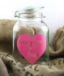 Wedding Signs, Honeymoon Jar, Wedding Jar, Vinyl, Date Night Jar, Chore Jar, I'm Bored Jar, Wedding Decor