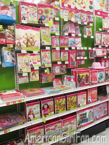 American Girl Party Products at Michaels! Brand-new American Girl Crafts party products. From girl and doll-sized party favors, decorations, and party crafts.