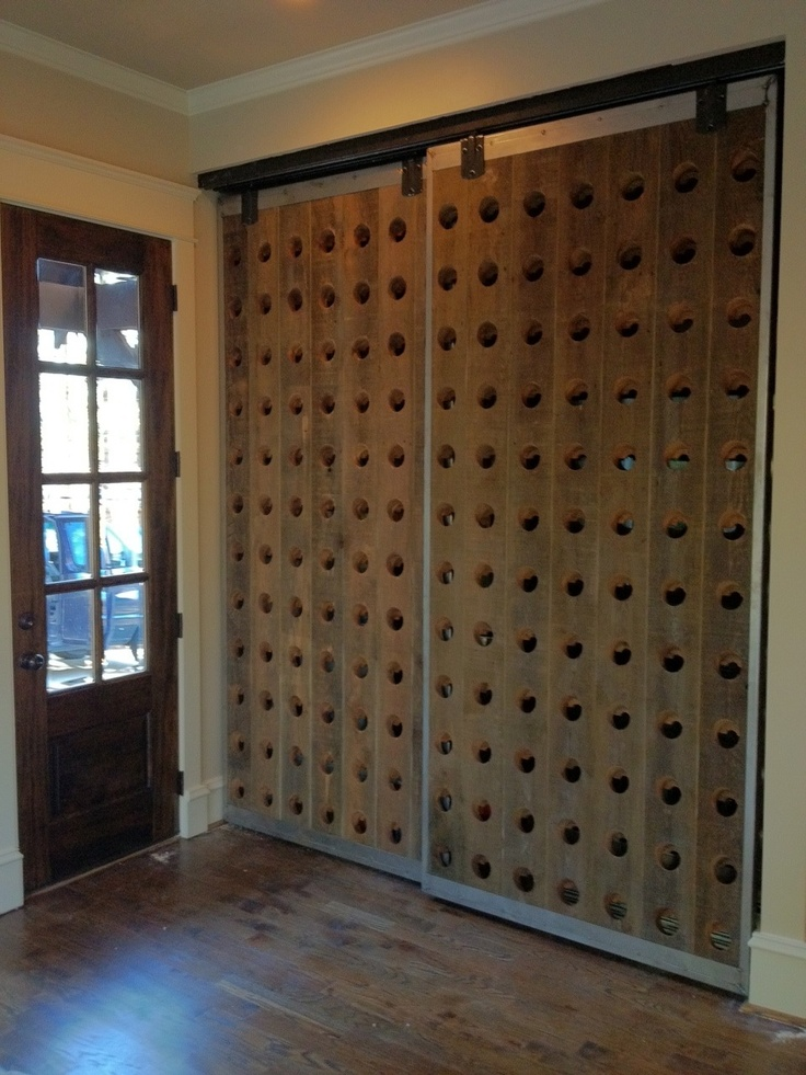 Great idea!  I have an old riddling rack from Frank Family Vineyards from my dad!
