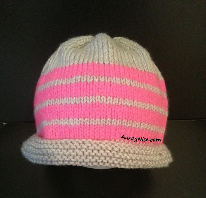 Looking for your next project? You're going to love Striped 4ply/8ply Hat/Beanie 5 sizes by designer AuntyNiseCrafts. http://www.craftsy.com/pattern/knitting/accessory/striped-4ply8ply-hatbeanie-5-sizes