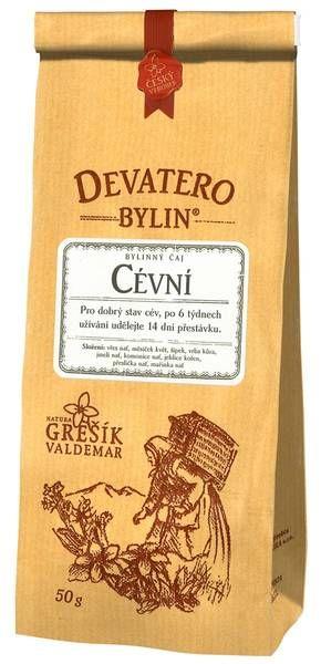 Cévní 50 g sypaný čaj - Devatero bylin Grešík