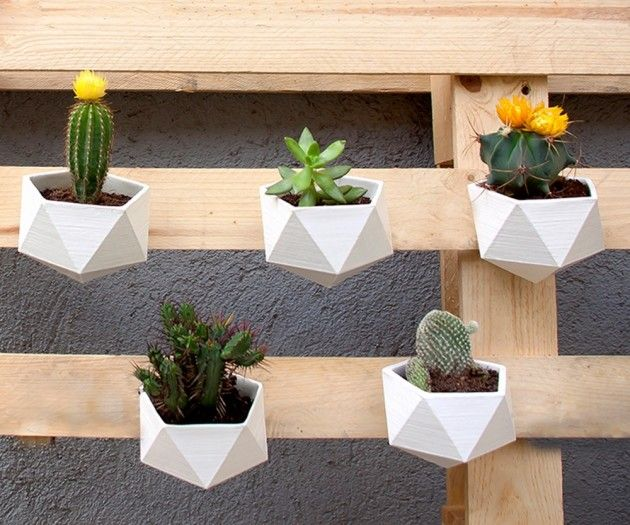 Macetero geom trico de cer mica dise o design for Disenos para ceramica