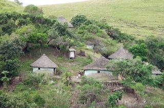 Qunu area, Transkei. Birthplace of Nelson Mandela, Eastern Cape