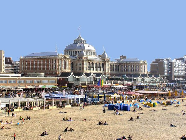 ★★ Scheveningen is the beach area of the Hague in the Netherlands.