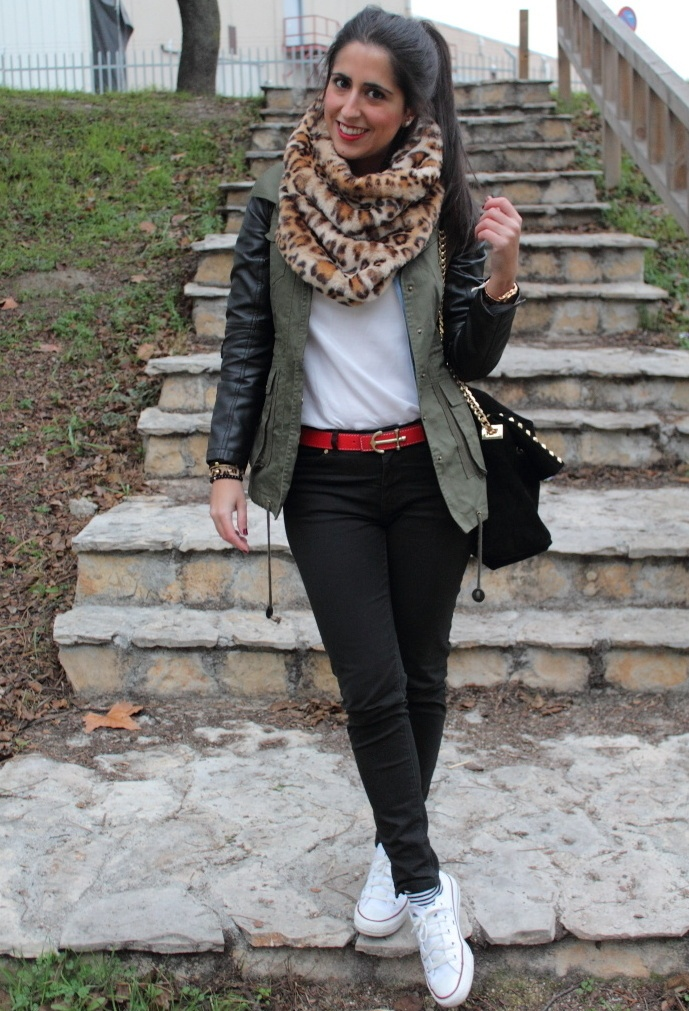 Zara  Scarves / Echarpes, The Anclas  Belts and Sheinside  Jackets