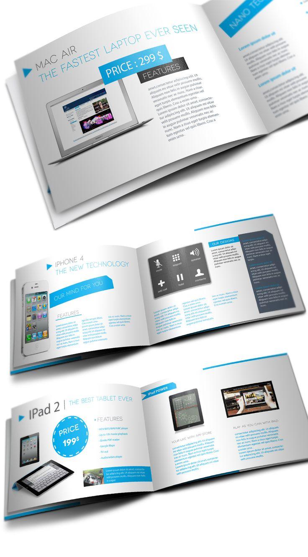 Products Showcase Catalogue  by Unicogfx (via Creattica)