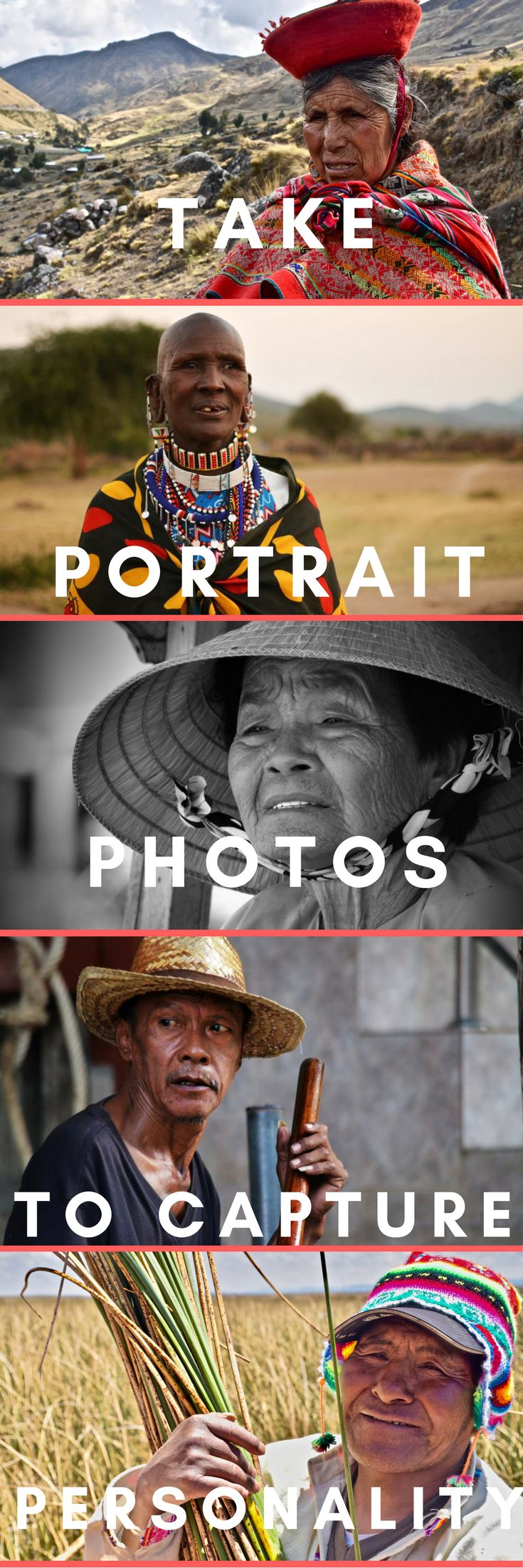 Do you want to capture natural personality every time you take a portrait photo of a person you meet whilst travelling? Do you want clear striking, creative photos? Need some photography inspiration? Follow these super easy tips to make your portrait photos awesome!