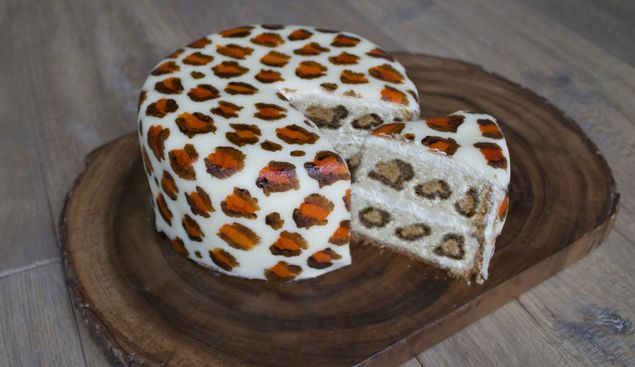 Beestachtig lekker en helemaal hip! Een leuke uitdagende #taart met…