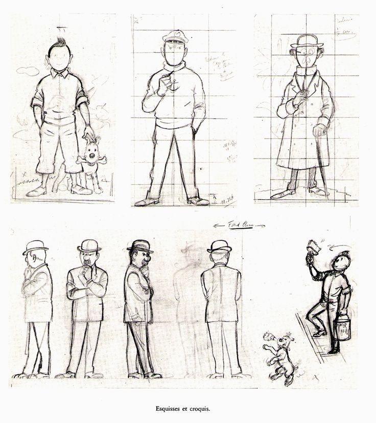Tintin anatomía (jpdubs.hautetfort.com)
