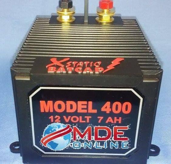 Xstatic Batcap 400 - 7Ah- 460+ Amps = to a 280f Cap - SHIPS FREE TO ANYWHERE USA #XstaticBatcap