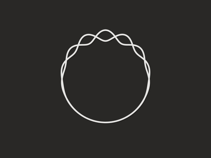 Dave Whyte / Circle Wave #gif #motion #animation #processing