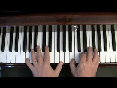 Danny Boy - Easy sing and play piano lesson