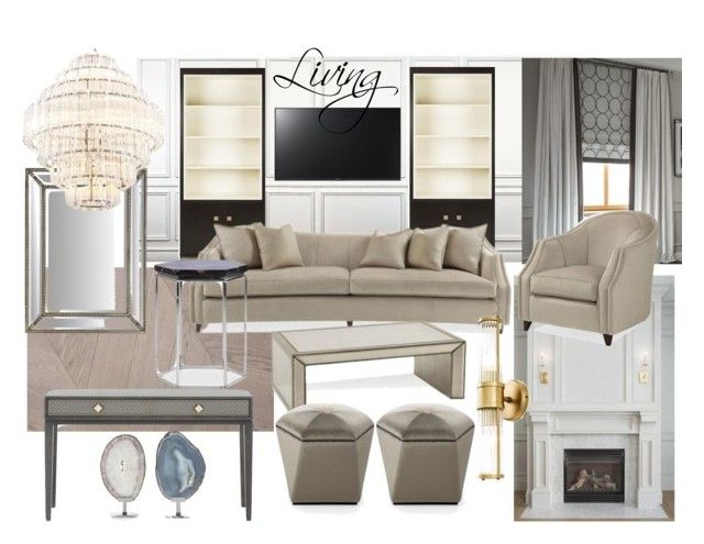 Livign ZR3 by naala-art on Polyvore featuring polyvore, interior, interiors, interior design, casa, home decor, interior decorating, Yves Saint Laurent, Chalou and Sony