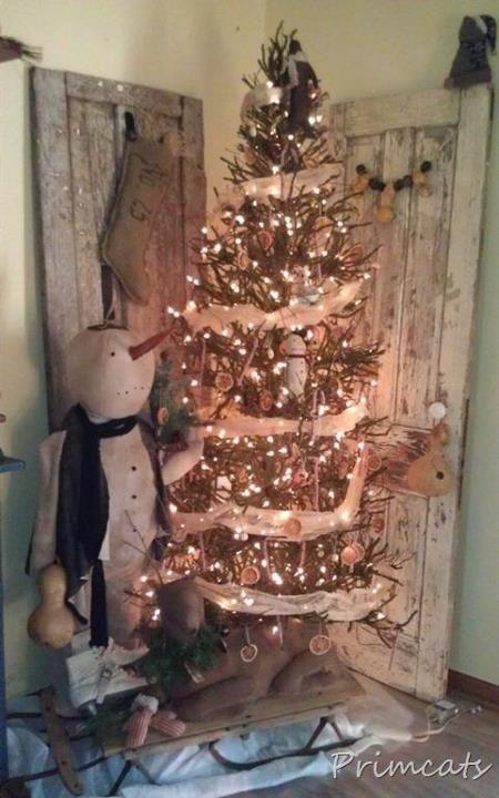 Primitive Christmas | Primitive Christmas at Primcats House... | Large Snowman