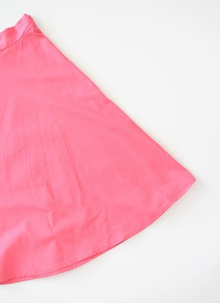 Hot Pink Pinup Swing Skirt.  Womens clothing and accessories inspired 1950s pinup and rockabilly fashion.