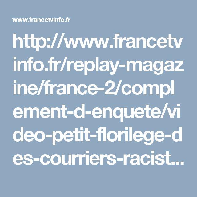 http://www.francetvinfo.fr/replay-magazine/france-2/complement-d-enquete/video-petit-florilege-des-courriers-racistes-adresses-a-la-grande-mosquee-de-lyon_1857669.html