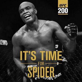 Blog Esportivo do Suíço:  Anderson Silva substitui Jon Jones e encara Daniel Cormier no UFC 200