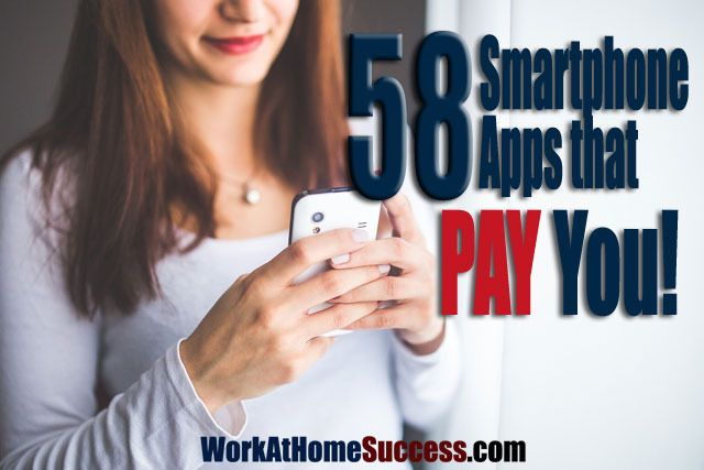 Save and make money with these smartphone apps! https://www.workathomesuccess.com/58-smartphone-apps-that-pay-you/?utm_campaign=coschedule&utm_source=pinterest&utm_medium=Leslie%20Truex