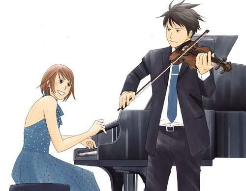 Nodame and Chiaki from Nodame Cantabile