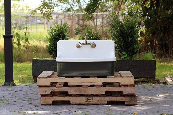 amazon: vintage style high back farm sink apron