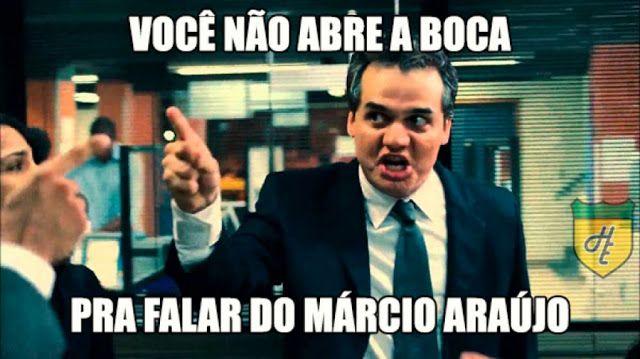 Os comentários e memes exaltando Márcio Araújo no Flamengo veja