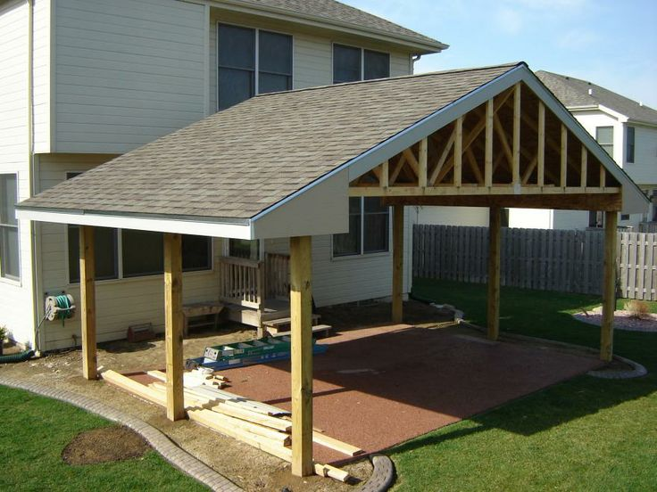 Patio With Roof | Building Roof Over Patio Patio 002