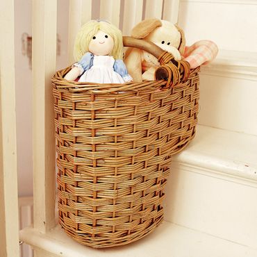 Stair Basket £16 Natural Or White!