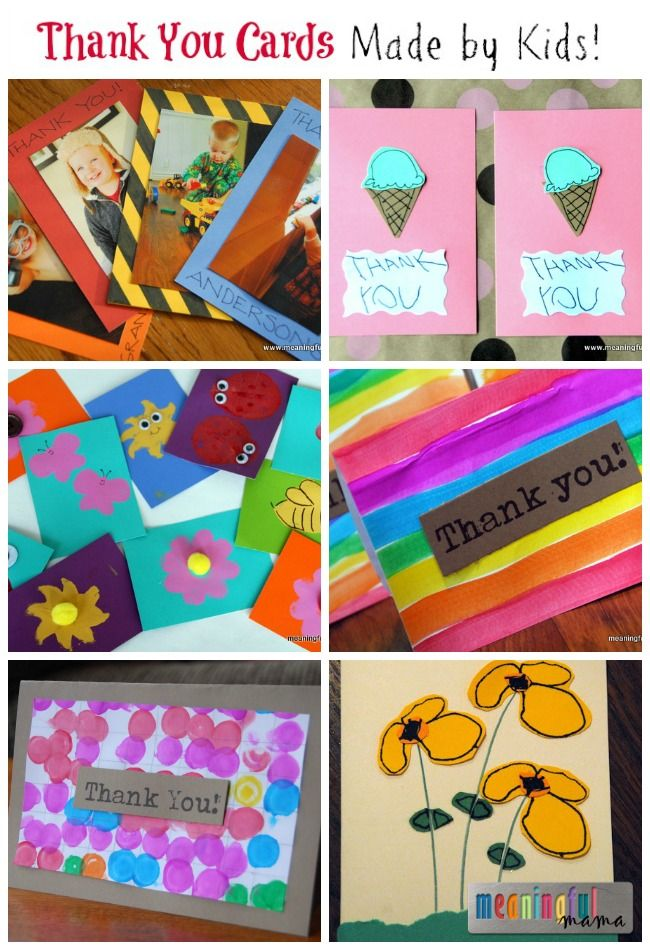 Best 25 kids thank you cards ideas on pinterest thank for Thank you crafts for teachers
