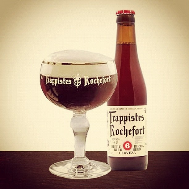 Trappistes Rochefort 6, 7.5% This is a wonderfully mid ...