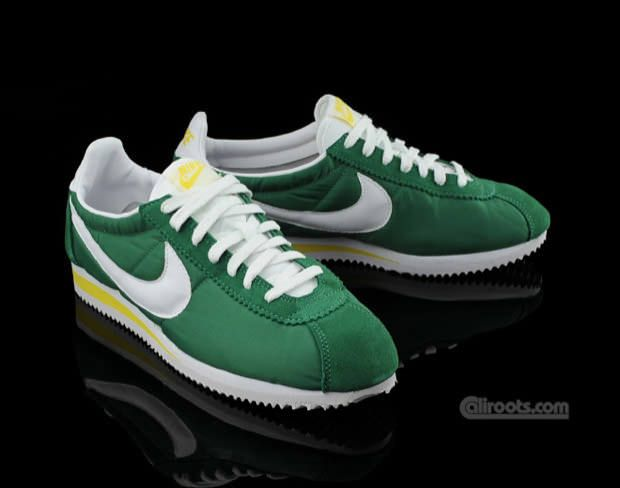 White Green Nike Cortez