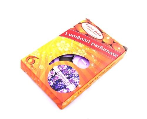 Lumanari parfumate 6/set Lavanda
