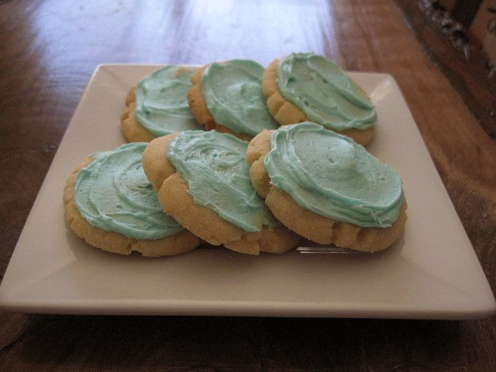 Iced Sugar Cookies from High Altitude Bakes