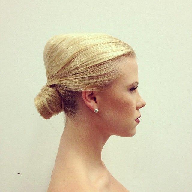Styling Make up: Min-Jee Mowat #hair #hairstyle #hairstyling #hairstylist #updo #chignon #bun #blonde #wedding #weddinghair #bridalhair #bridal #editorial #editorialhair #hairbrained