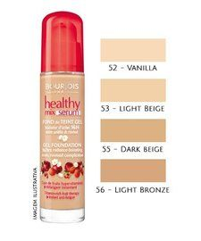 I Really like this - long wearing and finishes to a satin/dewy finish on my dry skin. It does not settle into my pores. :) (Sells at Shoppers Drug Mart Beauty Boutique)