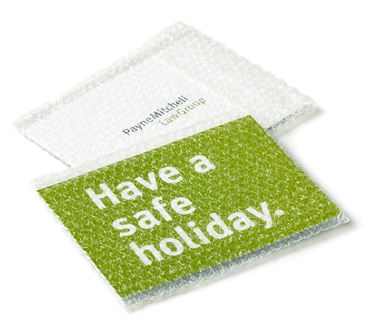 PayneMitchell Law Group - Holiday Safety Mailer, designed by MasonBaronet