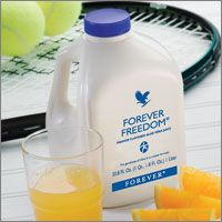 Forever Freedom has combined Aloe Vera with other substances that are helpful for the maintenance of proper joint function and mobility in a tasty, orange-flavored juice formula.