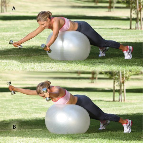 Good Posture Exercises: Upper Back and Shoulders Workout - Good Posture Exercises: Upper Back and Shoulders Workout - Shape Magazine