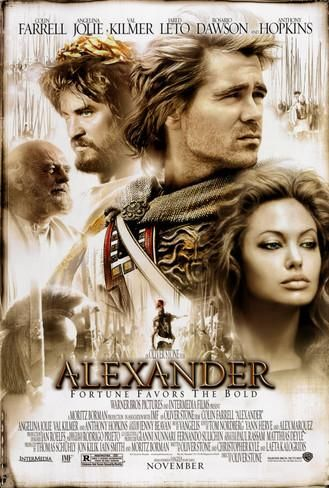 Alexander Double-sided poster