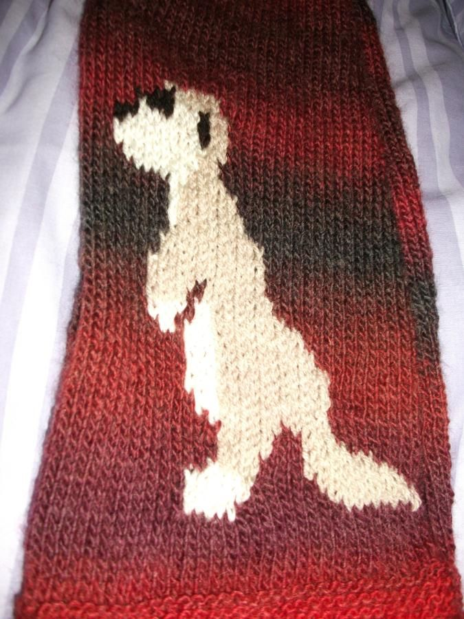 Meerkat Scarf - Knitting creation by mobilecrafts | Knit.Community