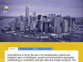Latest Performance Report for: http://web04.optionmetrics.com/ | GTmetrix