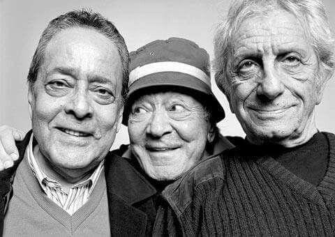 Gazanfer Özcan, Erol Günaydın, Nejat Uygur... Türk tiyatro sanatçıları.