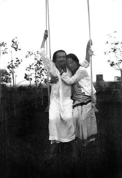 Meher Baba with Mehera Irani