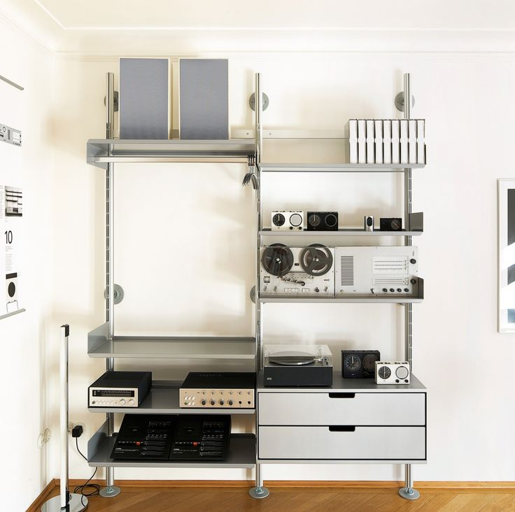 the 606 universal shelving system made by vits and designed by dieter rams is timeless adaptable and constantly evolving