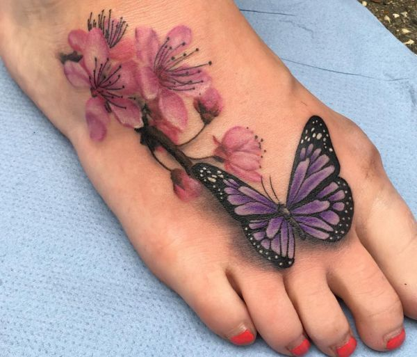 Cherry Blossom Tattoo Designs with meanings – 15 ideas