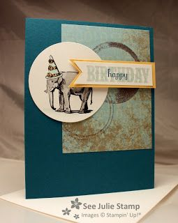 See Julie Stamp - Julie Wadlinger, Stampin' Up! Demonstrator : You're Amazing - CCMC254 - FabFri19