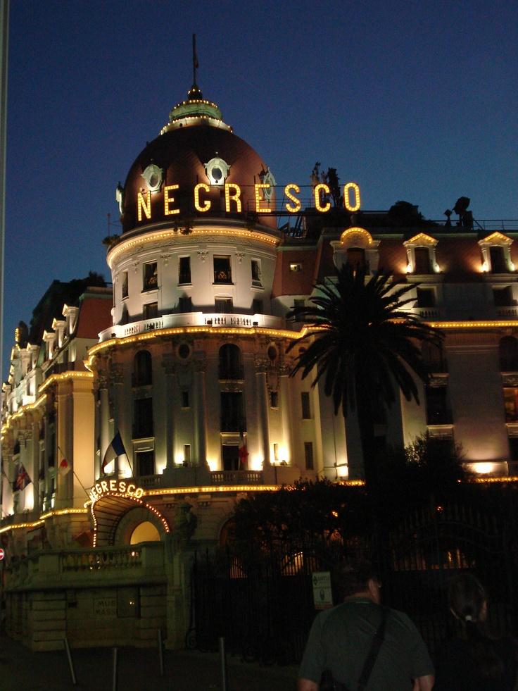 Negresco Hotel In Nice France