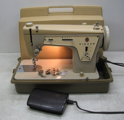Singer Fashion Mate Sewing Machine Model 40 Zig Zag EBay MCBIA Beauteous Ebay Sewing Machines Singer